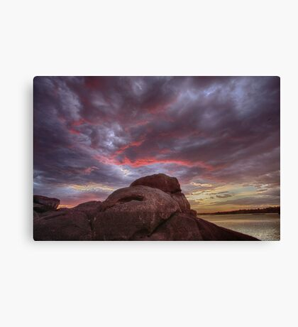 Red End Canvas Print