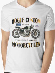 ROGUES CUSTOM T SHIRT Mens V-Neck T-Shirt