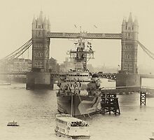 London bridge and the Royal Navy by RichardsPC