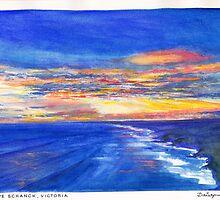 Cape Schanck Sunset by Dai Wynn