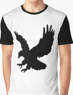 Eagle Silhouette Graphic T-Shirt
