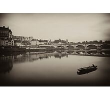 Reflections on the Loire River Photographic Print