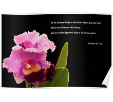 Hebrews 4:16 Poster