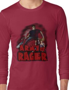 Army of Rager Logo Long Sleeve T-Shirt