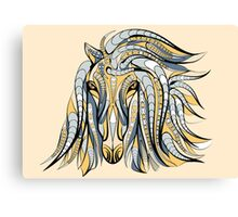 Colorful Tribal Horse Canvas Print