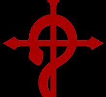 Fullmetal Alchemist Flamel Red by MRDordtenaar