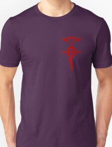 Fullmetal Alchemist Flamel Red T-Shirt