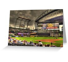 Safeco Field Greeting Card