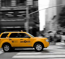 New York Yellow Cab by Daisy Yeung