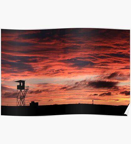 flemington sunrise Poster