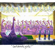 Last drinks girls... by johnboucher