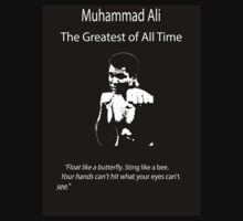 Muhammad Ali: The Greatest of All Time by arnavjhanjee