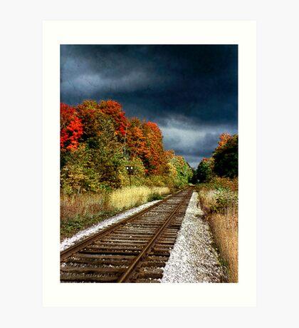 Ontario Autumn Art Print