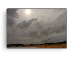 Biggles over Beachport? Canvas Print
