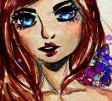Fantasy girl  Sticker