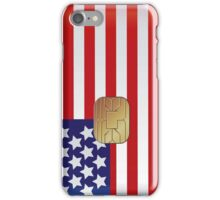American Flag Smart Card iPod /   iPhone 5 Case / iPhone 4 Case  iPhone Case/Skin