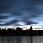 City in the night, Joensuu by Tommi Rautio