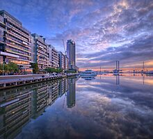 Victoria Harbour Promenade by Chris Mitchell