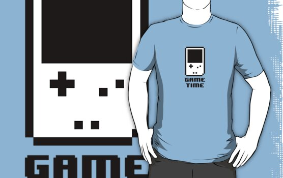 Game Time - 8-bit Style by techwiz