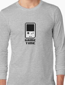 Game Time - 8-bit Style Long Sleeve T-Shirt