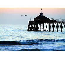 Imperial Beach Pier 12 Photographic Print