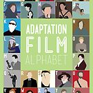 Adaptation Film Alphabet by Stephen Wildish