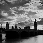 Westminster Bridge at Sunset by Dale Rockell