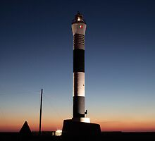 Dungeness Lighthouse at Sunrise # 1 by Dale Rockell