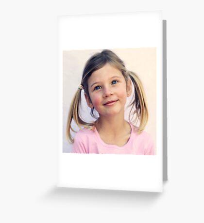 Bright Eyes Greeting Card