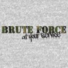Type tee: Brute force by Nikki Toong