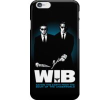 Winchesters in Black iPhone Case/Skin