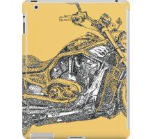 Fat Boy Rocker's Bike iPad Case/Skin