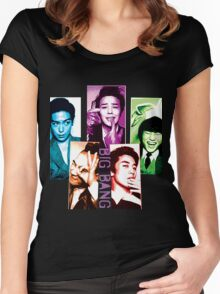 Big Bang  Women's Fitted Scoop T-Shirt