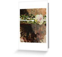 Pearl Rose Greeting Card