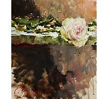 Pearl Rose Photographic Print