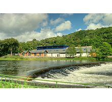 The Museum By The Weir Photographic Print