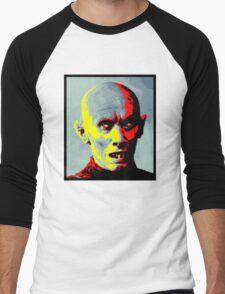 Psychedelic Barlow Men's Baseball ¾ T-Shirt