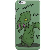 The call of the Cthulhu iPhone Case/Skin