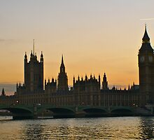 WESTMINSTER BY SUNSET by runda