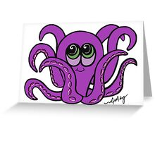 Inky Octopus Greeting Card