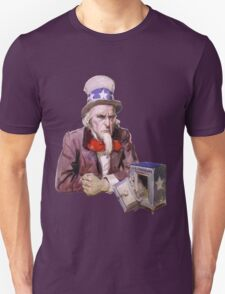 Uncle Sam with Empty Treasury T-Shirt