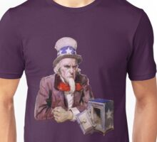 Uncle Sam with Empty Treasury Unisex T-Shirt
