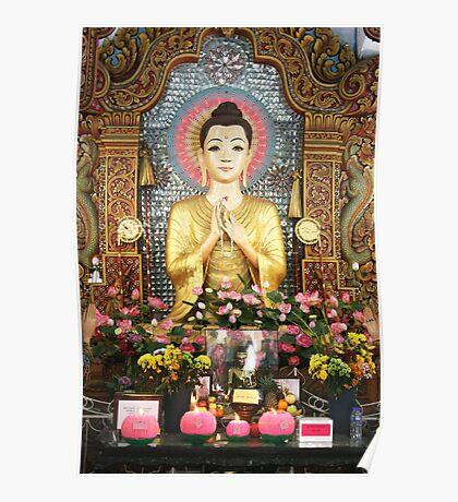 Cute Buddha Poster Poster
