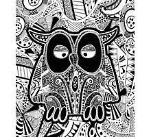 doodle owl Photographic Print