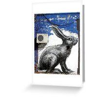 Run Rabbit, Run! Greeting Card