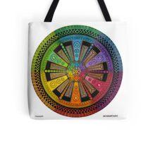 Mandala 43 drawing rainbow 1 Tote Bag