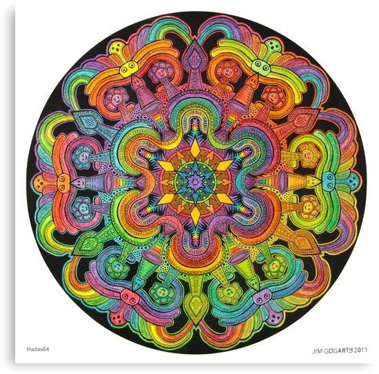 Mandala 31 drawing rainbow 1 by mandala-jim