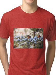 Christmas is for sharing Tri-blend T-Shirt