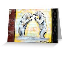 Polars Apart Greeting Card