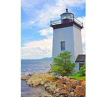 Isleboro Lite, Maine Photographic Print